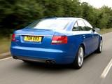 Audi S6 Sedan UK-spec (4F,C6) 2006–08 photos