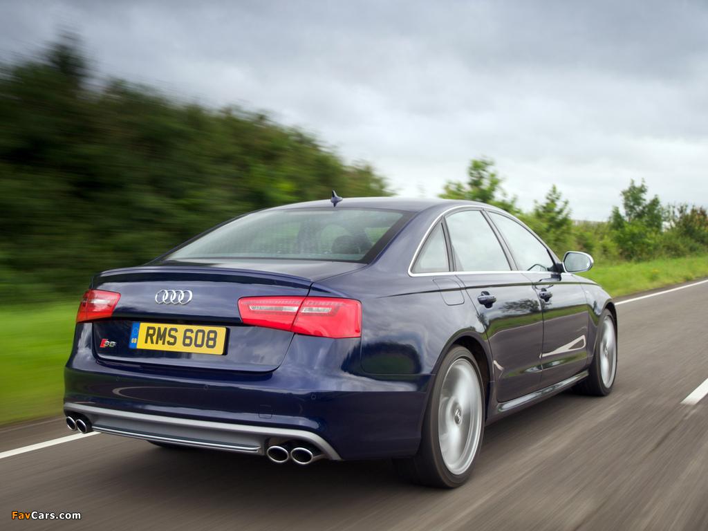 Audi S6 Sedan Uk Spec 4g C7 2012 Pictures 1024x768