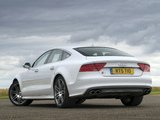 Audi S7 Sportback UK-spec 2012 pictures