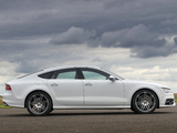 Audi S7 Sportback UK-spec 2012 wallpapers