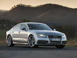 Audi S7 Sportback AU-spec 2012 wallpapers