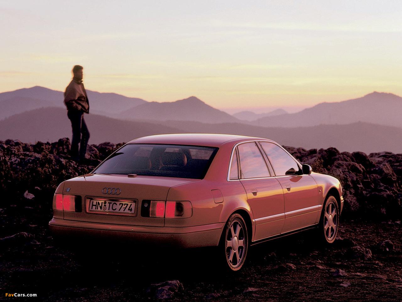 Audi S8 (D2) 1996-99 images (1280x960)