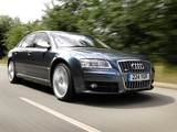 Audi S8 UK-spec (D3) 2005–08 images