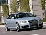 Audi S8 US-spec (D3) 2008–11 images