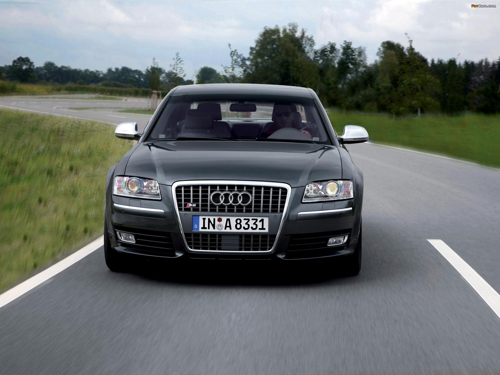 Audi S8 (D3) 2008-11 pictures (2048x1536)