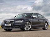Audi S8 UK-spec (D4) 2012 photos
