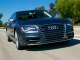 Images of Audi S8 US-spec (D4) 2012
