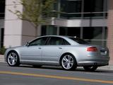 Photos of Audi S8 US-spec (D3) 2008–11