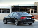 Photos of Audi S8 ZA-spec (D4) 2012