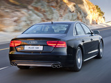 Photos of Audi S8 ZA-spec (D4) 2012