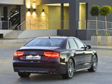 Pictures of Audi S8 ZA-spec (D4) 2012
