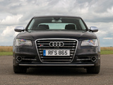 Audi S8 UK-spec (D4) 2012 wallpapers