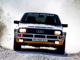 Audi Sport Quattro Group B Rally Car 1984–86 wallpapers