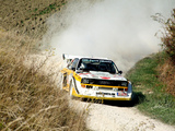 Audi Sport Quattro S1 Group B Rally Car 1985–86 photos
