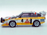 Audi Sport Quattro S1 Group B Rally Car 1985–86 pictures