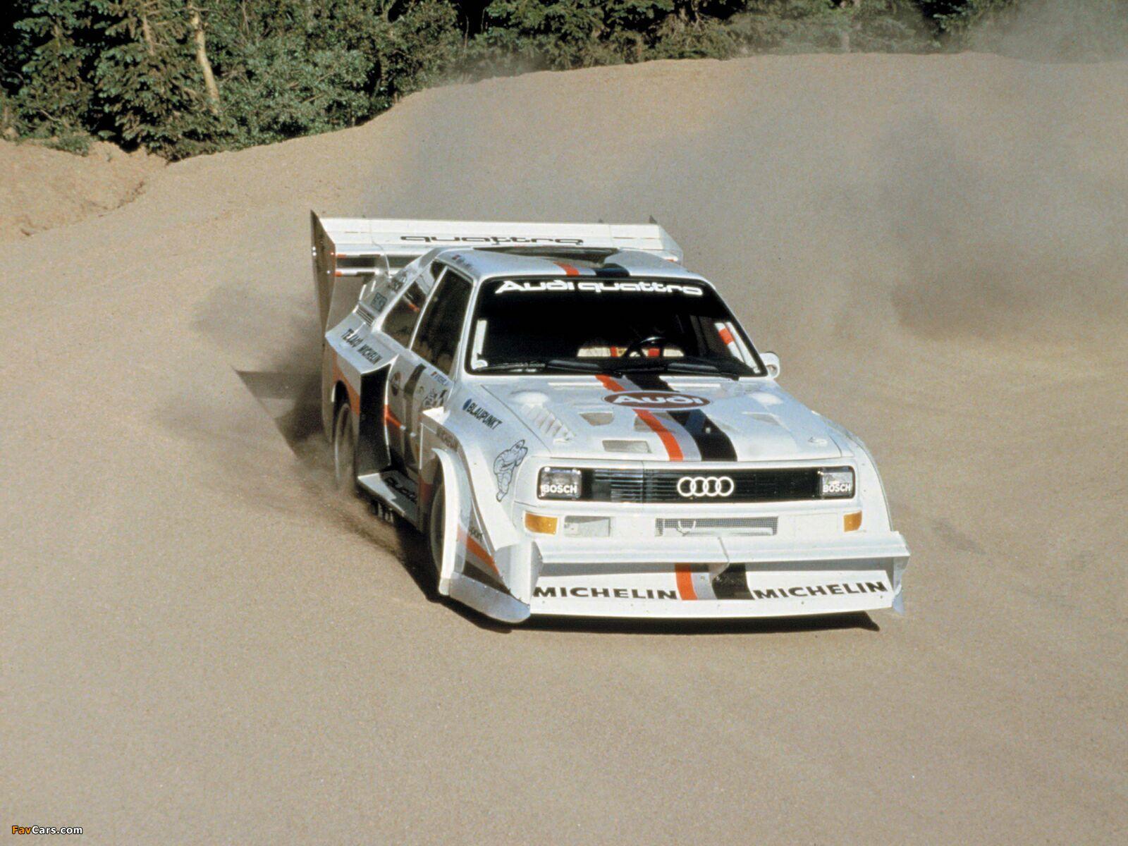 Audi Sport Quattro S1 Pikes Peak Hill Climb 1986 87