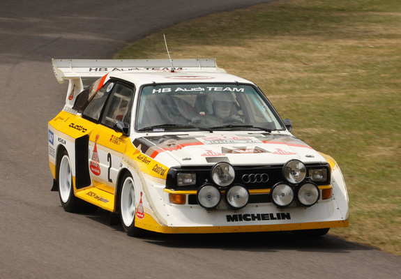 Audi Sport Quattro S1 Group B Rally Car 198586 Pictures