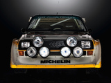 Audi Sport Quattro S1 Group B Rally Car 1985–86 wallpapers