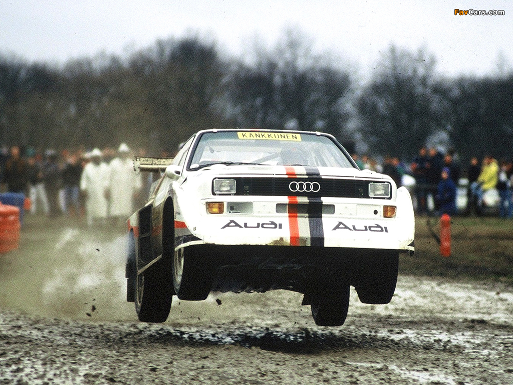 Audi Sport Quattro S1 Race of Champions 1988 pictures (1024 x 768)