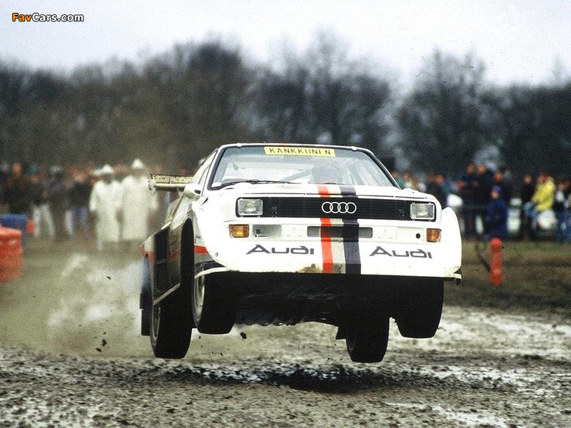 Audi Sport Quattro S1 Race of Champions 1988 pictures (800 x 600)