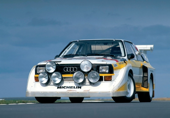 Images Of Audi Sport Quattro S1 Group B Rally Car 198586