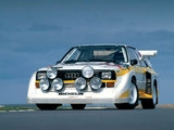 Images of Audi Sport Quattro S1 Group B Rally Car 1985–86