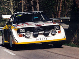 Photos of Audi Sport Quattro S1 Group B Rally Car 1985–86
