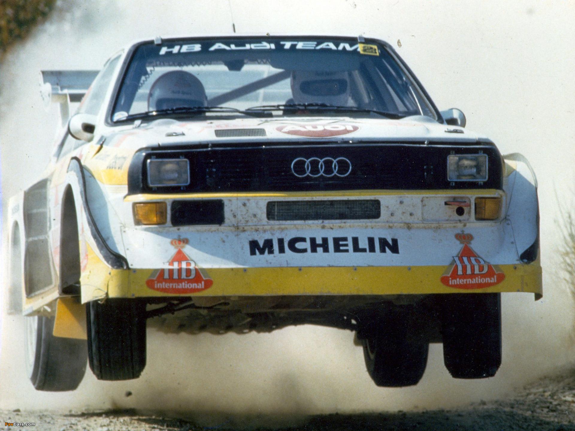 Photos Of Audi Sport Quattro S1 Group B Rally Car 1985 86