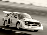Pictures of Audi Sport Quattro S1 Group B Rally Car 1985–86