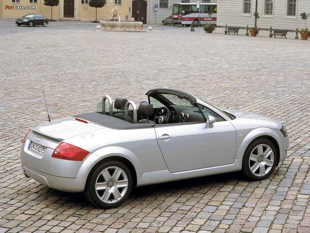 Audi Tt Roadster 8n 1999 2003 Images 1024x768