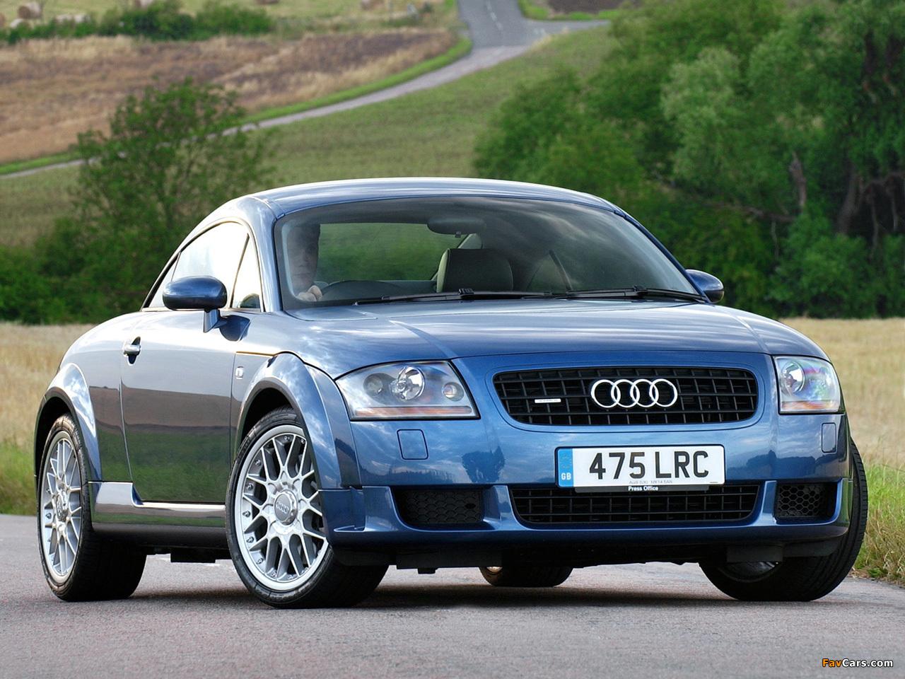 Audi Tt 3 2 Quattro Coupe Uk Spec 8n 2003 06 Wallpapers