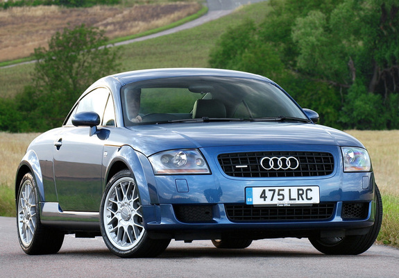 audi tt 3 2 quattro coupe uk spec 8n 2003 06 wallpapers. Black Bedroom Furniture Sets. Home Design Ideas