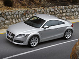 Audi TT 3.2 quattro Coupe (8J) 2006–10 images