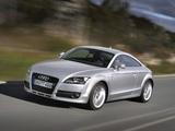 Audi TT 3.2 quattro Coupe (8J) 2006–10 photos