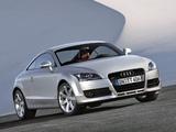 Audi TT 3.2 quattro Coupe (8J) 2006–10 pictures