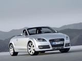 Audi TT Roadster (8J) 2007–10 pictures