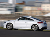 Audi TT RS Coupe (8J) 2009 wallpapers