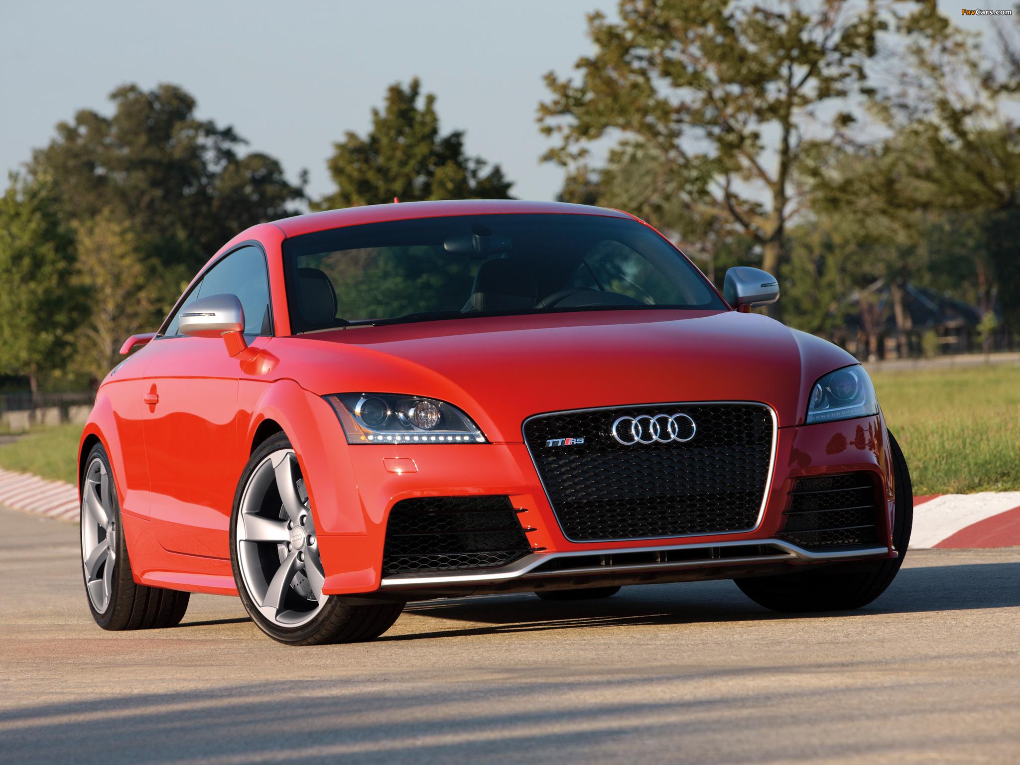 Audi TT RS Coupe US-spec (8J) 2011 photos (2048x1536)