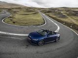 Audi TT Roadster 2.0 TDI quattro S line UK-spec (8S) 2017 images
