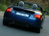 Images of Audi TT 3.2 quattro Roadster ZA-spec (8N) 2003–06