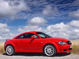 Images of Audi TT 3.2 quattro Coupe UK-spec (8N) 2003–06