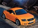 Images of Audi TT 3.2 quattro Coupe (8N) 2003–06