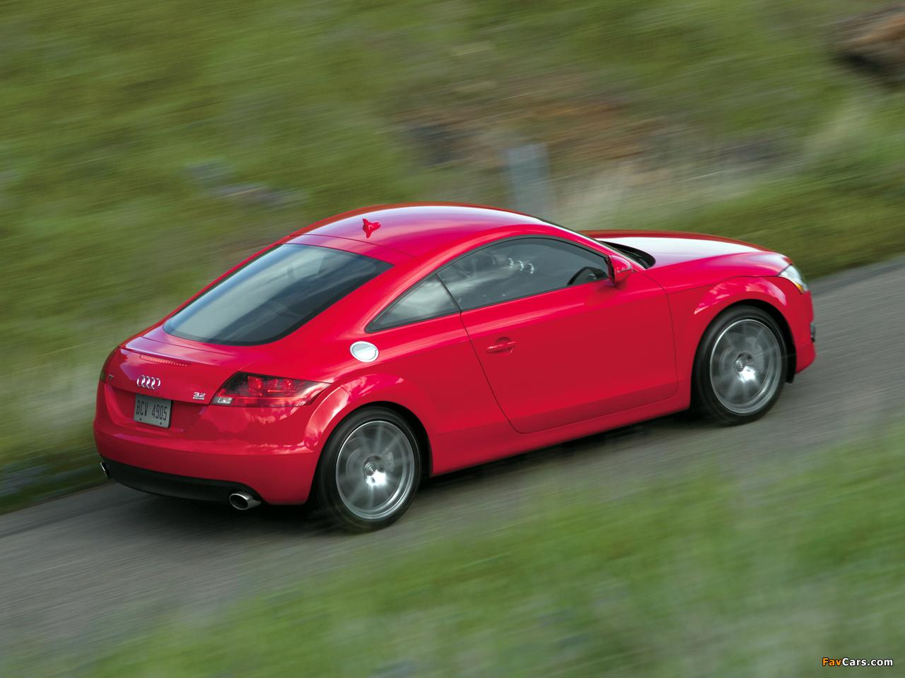 Images of Audi TT Coupe US-spec (8J) 2006-10 (1280x960)