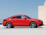 Images of Audi TT S-Line Coupe (8J) 2007–10