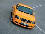 Photos of Audi TT 3.2 quattro Coupe (8N) 2003–06