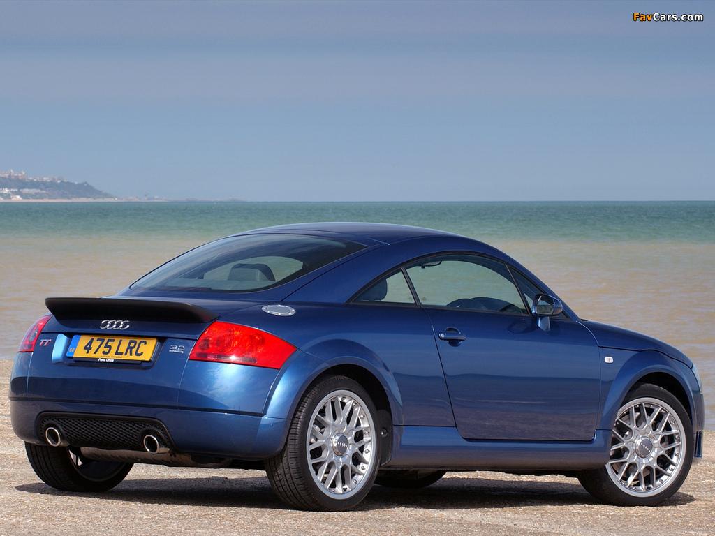 Photos Of Audi Tt 3 2 Quattro Coupe Uk Spec 8n 2003 06