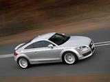 Photos of Audi TT 3.2 quattro Coupe (8J) 2006–10