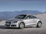 Pictures of Audi TT 3.2 quattro Coupe (8J) 2006–10
