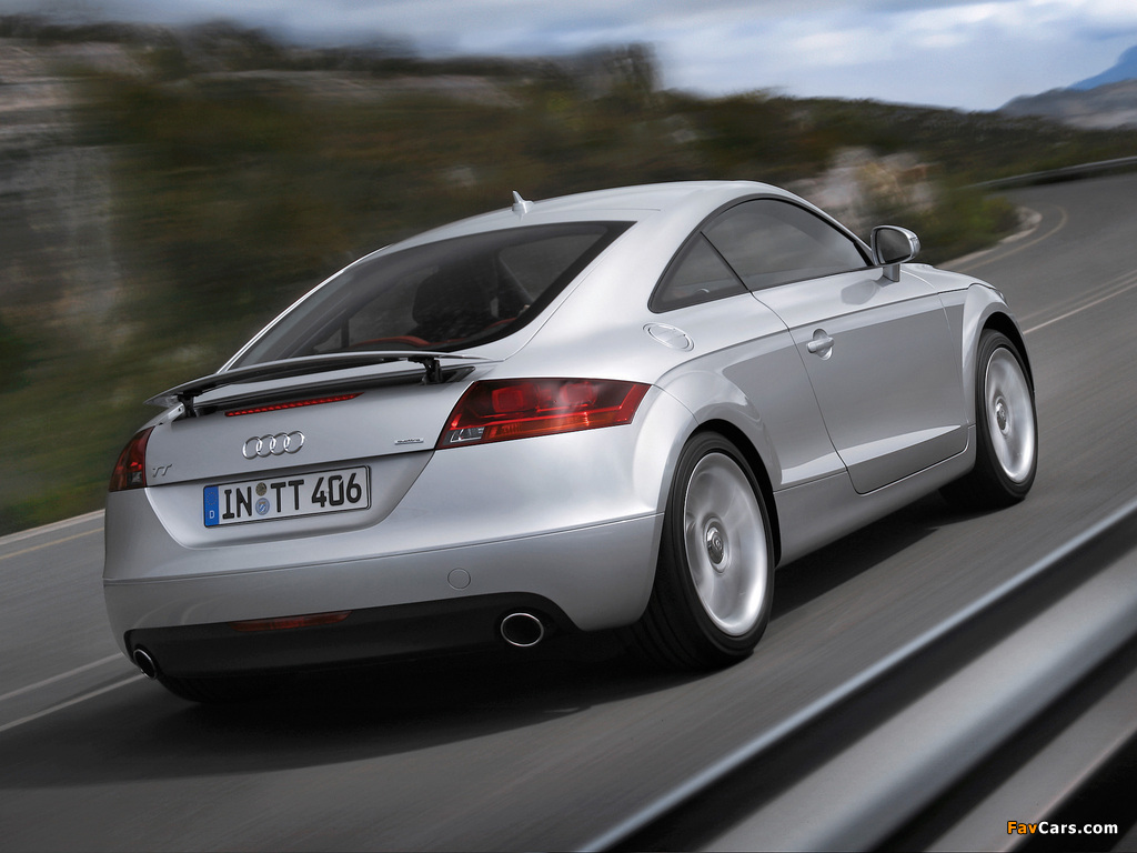 Pictures Of Audi Tt 3 2 Quattro Coupe 8j 2006 10 1024x768