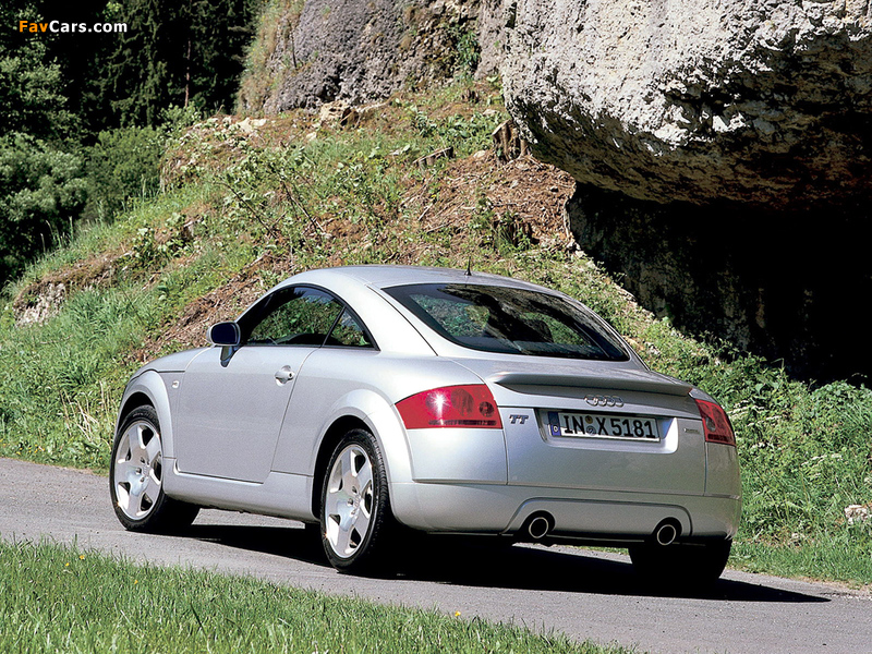 audi tt coupe 8n 1998 2003 wallpapers 800x600. Black Bedroom Furniture Sets. Home Design Ideas